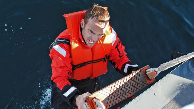 Coast Guard Chief Petty Officer Terrell Horne III, stationed on the Cutter Halibut.