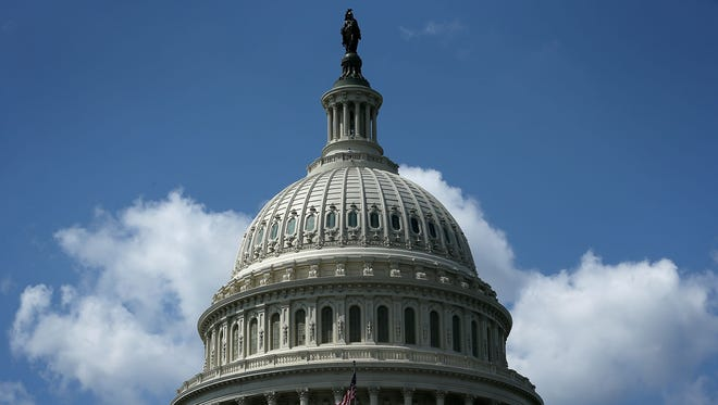 The U.S. Capitol dome is undergoing a $59 million, two-year restoration.