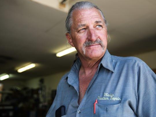 Steve Walls of San Angelo is a drag boat racer set