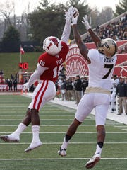 IU cornerback Rashard Fant is the Big Ten's active leader in passes defended.