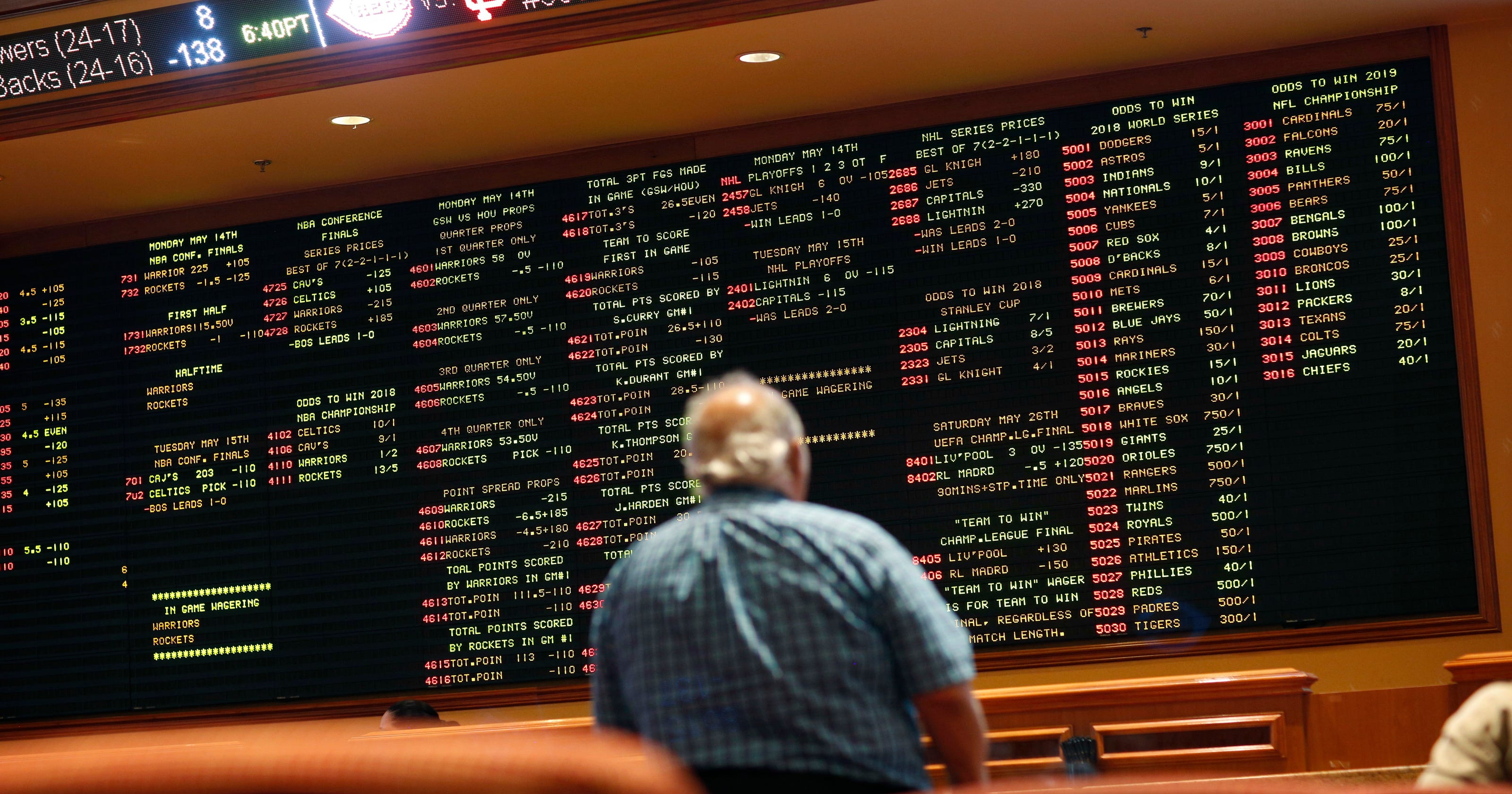 Gambling: Mississippi casinos to have sports bets