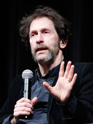"""Tim Blake Nelson speaks on stage during MoMA's Contenders screening of """"The Ballad of Buster Scruggs."""""""
