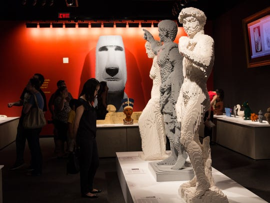 THE ART OF THE BRICK will be on display in The Franklin Institute's Mandell Center through September 6, 2015.