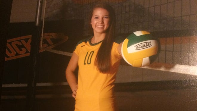 Reynolds junior Courtney Koehler has committed to play college volleyball for South Carolina.