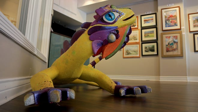 Art-Z, the mascot for Arts to Zion, can be found in downtown St. George at Gallery 35, which features work from artists affiliated with Arts to Zion and from the Dixie Watercolor Society.