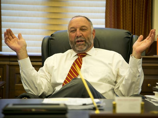 Iowa State University President Steven Leath