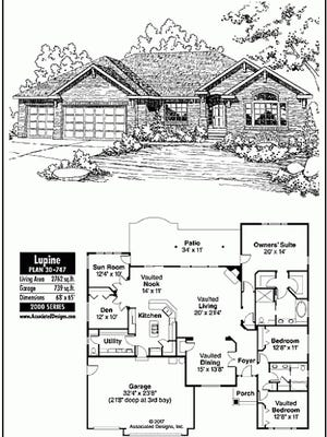 lupine house plan