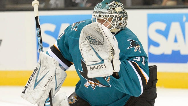 Antti Niemi's top-ranked goaltending has lifted the San Jose Sharks to the top spot in the NHL power rankings.