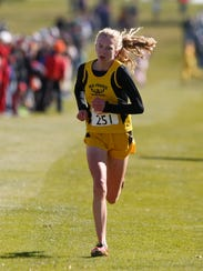 Mid-Prairie sophomore Marie Hostetler heads to the