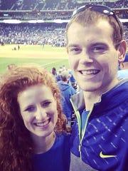 Malori McGhee with boyfriend Sean Fahrendorf.