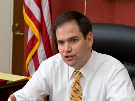Sen. Marco Rubio, R-Fla., came to national attention