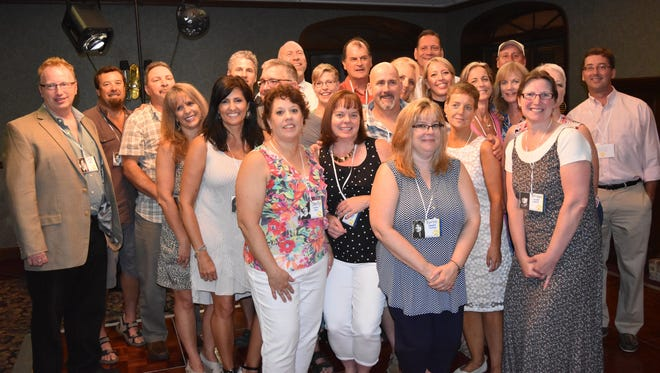 The Lansing High School Class of 1982 got together for a 34-year reunion on Aug. 13.