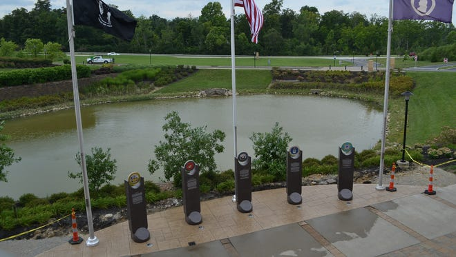 Anderson Township prepares to dedicate its new Veterans Memorial 7 p.m. Thursday, Aug. 3.