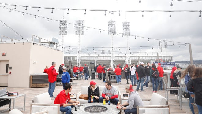 Fans get ready for Opening Day.