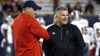 Arizona's payout to Rich Rodriguez is $6.28 million while Arizona State's payment to Todd Graham is $12 million.