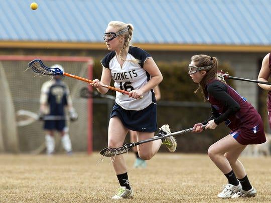Essex High School girls' lacrosse vs. Spaulding
