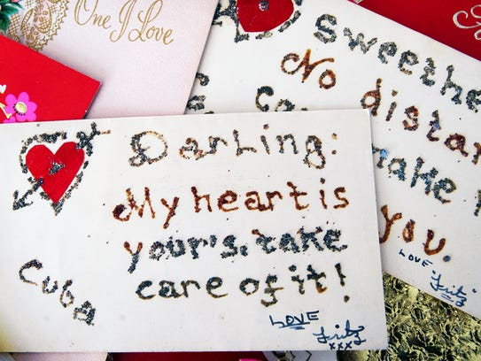 One of the earliest love letters sent to Joyce Ilgenfritz