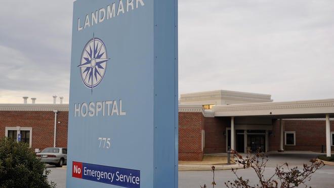 Landmark Hospital of Athens on Sunset Drive.
