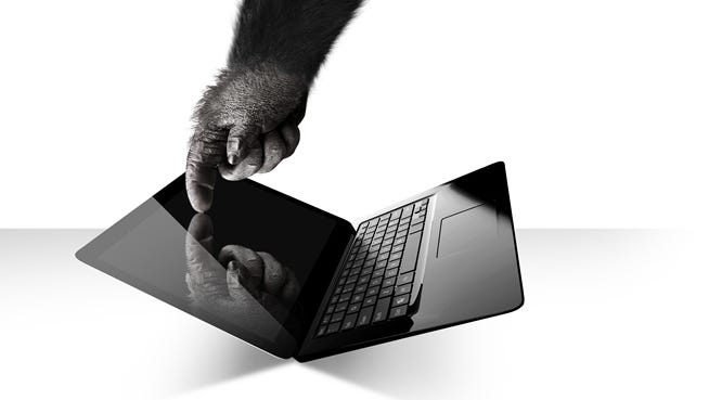 A Corning Inc. photo from 2013 promoting Gorilla Glass.