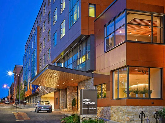 Hotel Vermont was among the top 5 hotels selected by