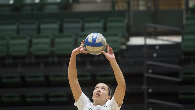 Katie Oleksak will be the first true freshman setter for CSU since 2005.