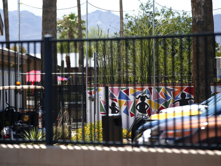 Exterior of Southwest Key in Tucson, on June 20, 2018.