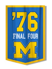 Michigan made the Final Four in 1976.