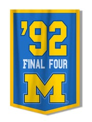The Fab Five made the Final Four in 1992.