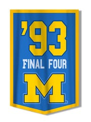 Michigan's 1992 and 1993 Final Four appearances were vacated by the NCAA.