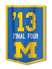 The Wolverines led at the half, but lost to Louisville in the 2013 national final in Atlanta.