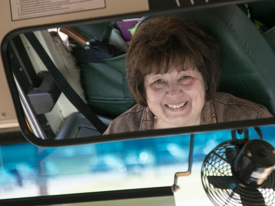 Vicki Hershinger is retiring after a 30 year career driving school bus for Madison Schools.