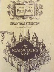 The Marauder's Map used in last year's Queen City Mischief