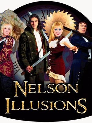 Nelson Illusions will perform at the Visalia Fox in January.
