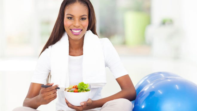 Instead of trying to cut a large amount of calories from your diet or burn a large amount of calories in the gym, build a well-balanced diet and a reasonable exercise plan to create the caloric deficit necessary for healthy weight loss.