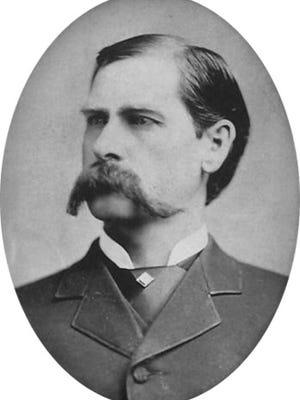 Wyatt Earp, circa 1887.
