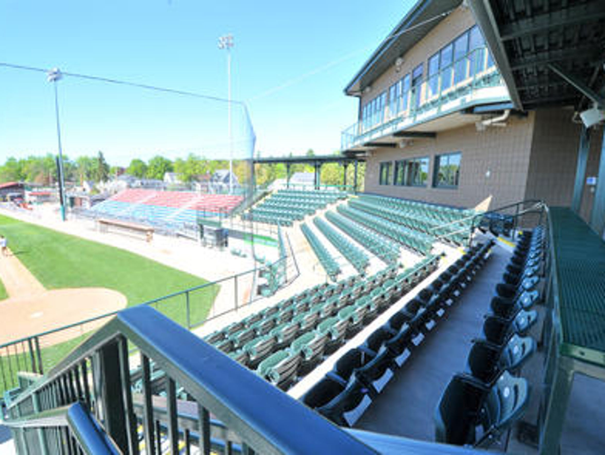 Athletic Park, home of the Wisconsin Woodchucks.