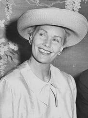 Frances Farmer, Indianapolis, May 20, 1964