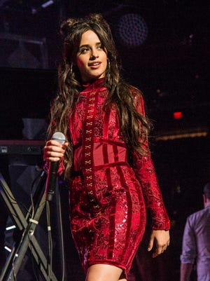 Camila Cabello performs at the Riverside Theater April 21.