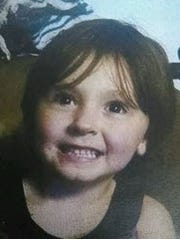 Authorities issued an Amber Alert for Alanda Lee McCoy, 4, on Wednesday, June 21, 2017.
