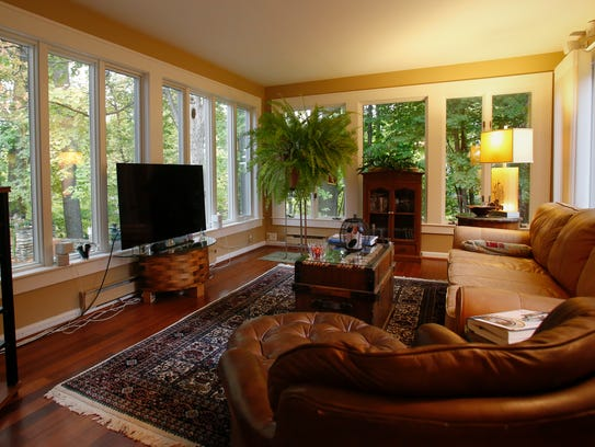 This room was formerly a screened in porch converted