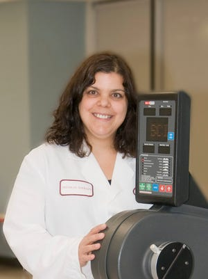 Sandy Fini is a physical therapist specializing in Parkinson's disease at Helen Hayes Hospital in West Haverstraw.