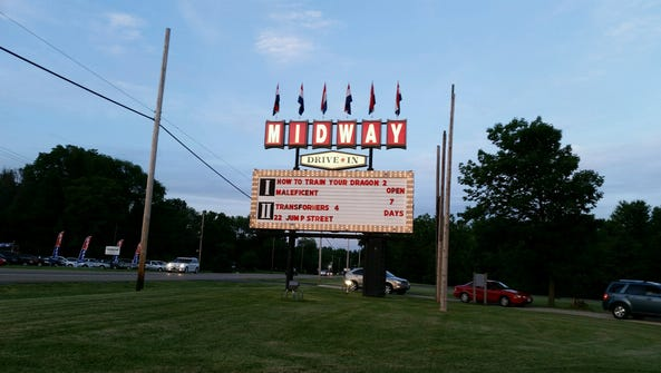 Midway Drive-In.