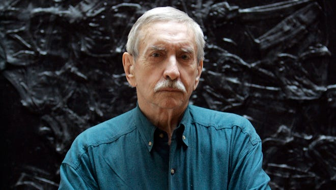 Edward Albee poses for a portrait in New York on March 13, 2008.
