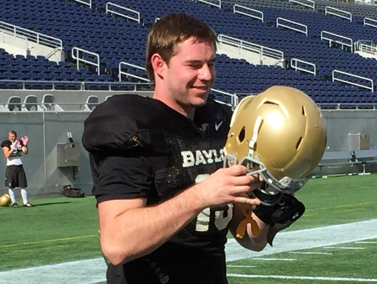 Baylor tight end Gus Penning