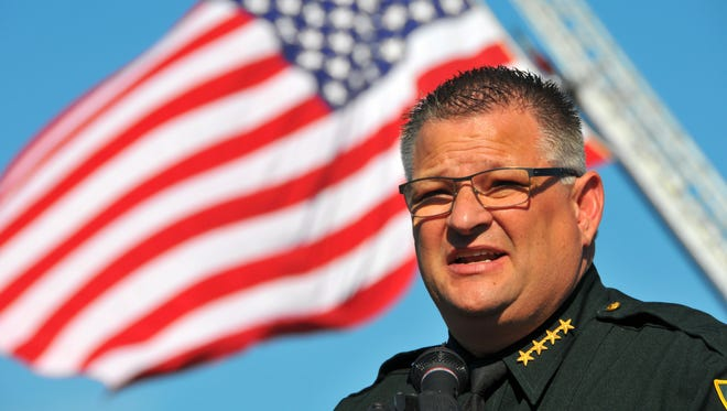 In a departure from his previous calls to arm school staff, Brevard Sheriff Wayne Ivey has recommended the school board table a controversial marshal program.