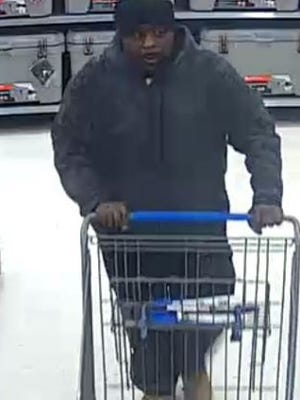 Police are looking to identify this man, suspected of a theft at the Springettsbury Township Walmart.