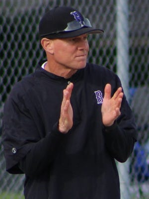 Veteran baseball head coach Frank DiVIto led Bloomfield Hills to a stunning upset of state-ranked Groves in Tuesday's Division 1 pre-district action.