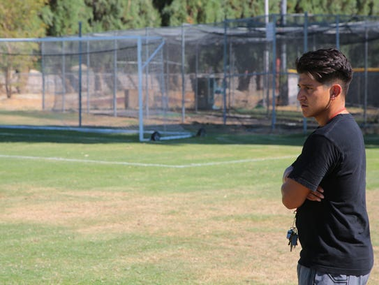 Enrique Cardenas, a former CIF player of the year from