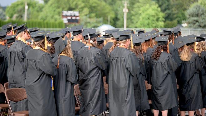 Scio High School graduation