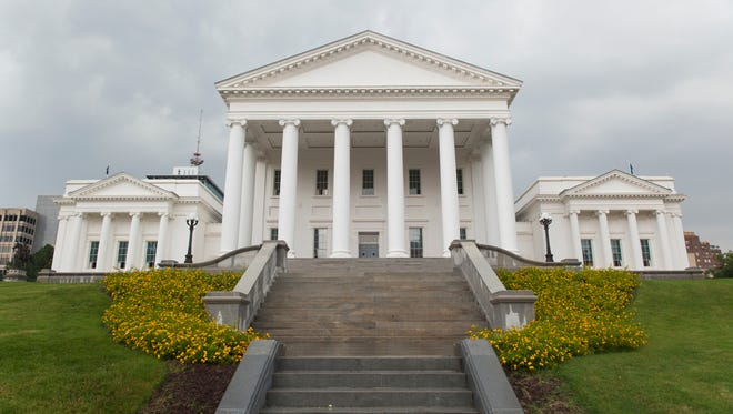 The Virginia State Capital. It was designed by Thomas Jefferson and has housed the General Assembly since 1788.